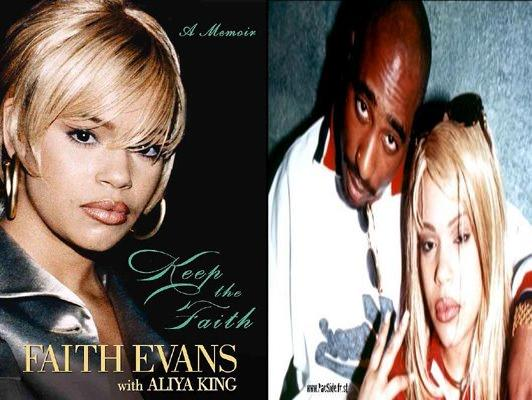 """Keep the Faith"" autobiography, by Faith Evans and writer Aliya S. King,"